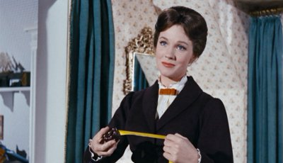 Julie Andrews nel ruolo di Mary Poppins