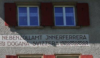 La dogana svizzera