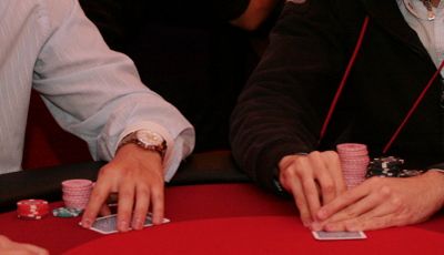 Giocatori di poker a Saint-Vincent