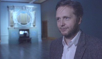 Ragnar Kjartansson durante 'A sky in a room'