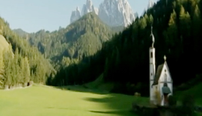 Le Dolomiti sul secondo video Magic Italy