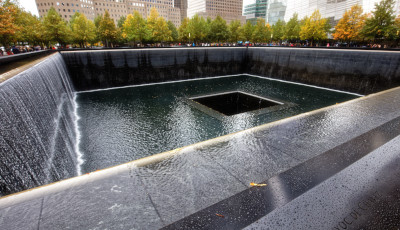 Il monumento a 'Ground Zero', a New York